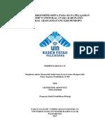 Analisis Miskonsepsi Siswa Pada Mata Pelajaran Ipa Di Smp n 4 Penukal Utara Kabupaten