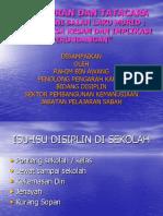 Ceramah Pengurusan Disiplin