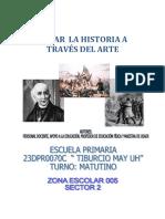 Proyecto Mirar La Historia Atraves Del Arte