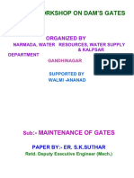 Maintenance of Gates