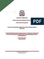 2 Pliego Servicios CAASD LPN 05 2018