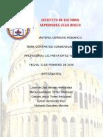 Contrato s PDF Derecho Romano