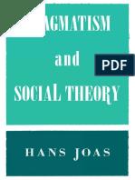Pragmatism and Social Theory