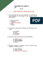 Banco de Preguntas de Gineco Obstetricia