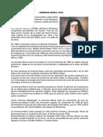 Hermana María José