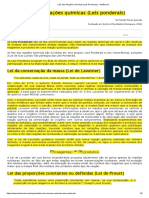 Leis das Reações Químicas (Leis Ponderais).pdf