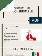 SINDROME DE COLON IRRITABLE.pptx