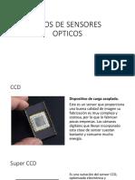 Tipos de Sensores Opticos