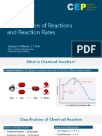1 Classification and Rate Reactions