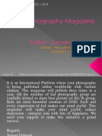 Kid Photography Magazine, Vol