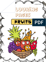 Coloring Pages - Fruits