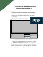 SOP Prototype EMG Dilengkapi Stimulator Berbasis Arduino Dengan PC