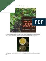 DIJAMIN..!Hp/Wa 0813-2711-9234, Buah Durian Musang King, Bibit Durian Musang King Di Jakarta,