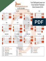 Texsa SPO 2018 Calendar by YourChildSupportLawyer.com