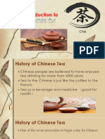Introduction to Chinese Tea