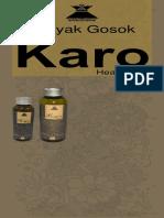 Banner Karo Oil
