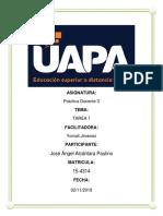 Tarea 1 de Practica Docente 3 de Jose Angel