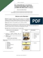 Defectos en Los Materiales. Practica 1