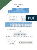 Calor Específico Word- PDF