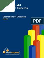 Estadísticas Del Registro de Comercio de Bolivia - Departamento de Chuquisaca- Abril 2018