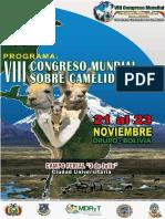 Viii Congresomundial de Camelidos Cronograma Final