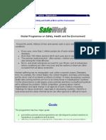 Ilo Safework Global Program