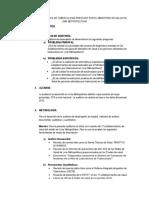 Flujograma Actual Del Proceso de Post Venta y Seguimiento