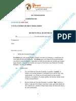 Standard Posesion Order Español YourChildSupportLawyer.com