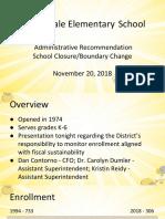 Nov20 PublicMtgThornydale Elementary