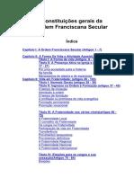 Constituições da OFS