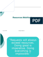 Resources Mobilization