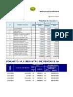 Excel Planilla Sueldos y Registros
