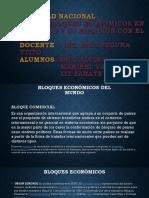 Realidad Nacional Exposicion Bloques Economicos y Su Relacion Con El Peru