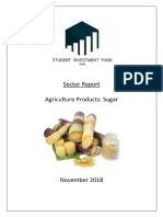 Sugar - Sector Analysis