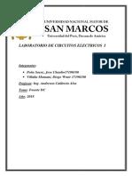 Laboratorio de Circuitos Electricos i