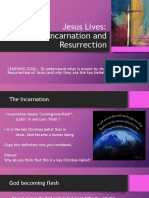 the incarnation and resurrection of jesus rb