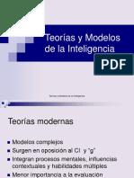 Teorias y modelos de la inteligencia