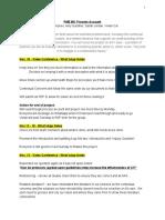 pme 801 process account