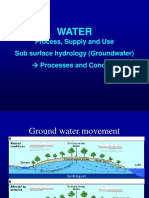 Groundwater Proces