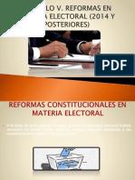 Reforma electoral 2014