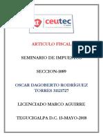 OscarRodriguez 31121727 Tarea-02 Articulo Fiscal