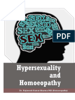 Hypersexuality and Homoeopathy