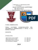 Monografía de Embriología