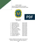 Laporan KKN Dsn Tegalsari, Ds. Kupang, Kec. Jabon, Kab. Sidoarjo