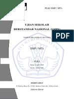 US PLKJ Kelas 9 Thn 1718 Paket A