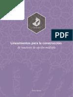 Lineamientos para la Construcción de Reactivos de Opción Múltiple 6aEd[269].pdf