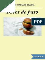 Ritos de Paso - Jorge Machado Obaldia