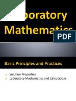 2. Lab Math