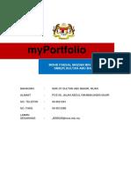 Kulit MyPortfolia - SEK MENENGAH