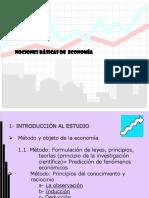 Clase Semana 2 Nociones de Economía
